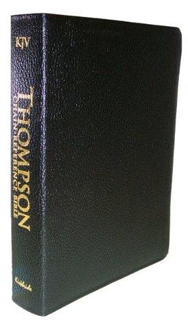 Thompson Chain Reference Bible (Style 510black index) - Regular Size KJV- Genuine Leather Frank Charles Thompson