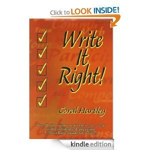 Write It Right! Coral Hartley