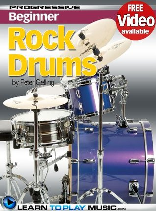 Rock Drum Lessons for Beginners - Teach Yourself How to Play Drums (Free Video Available) LearnToPlayMusic.com