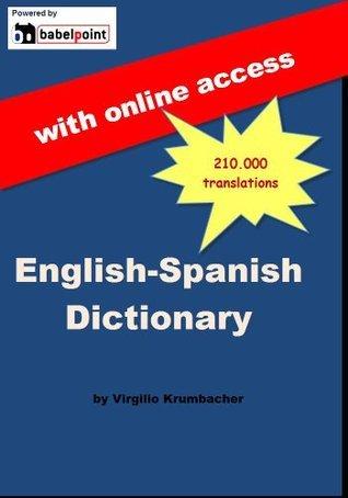 Babelpoint English-Spanish dictionary Krumbacher Virgilio