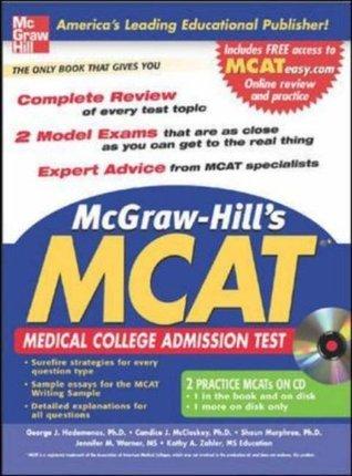McGraw-Hills New MCAT with CD-Rom (McGraw-Hills MCAT George Hademenos