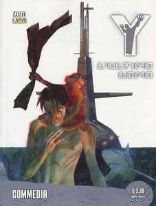 Y L'Ultimo Uomo n. 4: Commedia Brian K. Vaughan