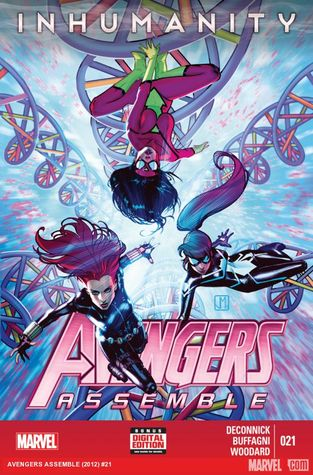 Avengers Assemble #21  by  Kelly Sue DeConnick