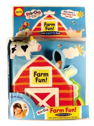 Farm Fun!: Bath Book and Squirting Tub Toy  by  Pattie Silver-Thompson