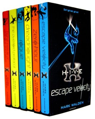 Mark Walden 6 Books Collection Set (H.I.V.E Series) (H.I.V.E Collection) (Rogue, Higher School of Villainous Education, Escape Velocity, Zero hour, Dreadnought, The Overlord protocol)  by  Mark Walden