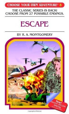 Escape (Choose Your Own Adventure #8) R.A. Montgomery