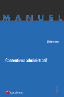 Contentieux administratif  by  Olivier Gohin