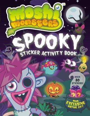 Spooky Sticker Activity Book  by  Unknown