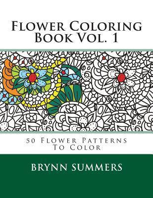 Flower Coloring Book Vol. 1  by  Penny Farthing Graphics