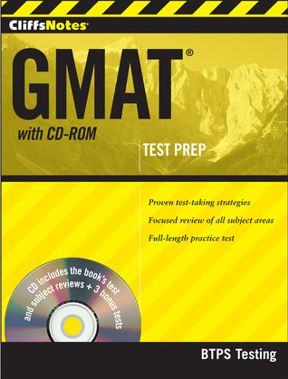 CliffsNotes GMAT with CD-ROM BTPS Testing