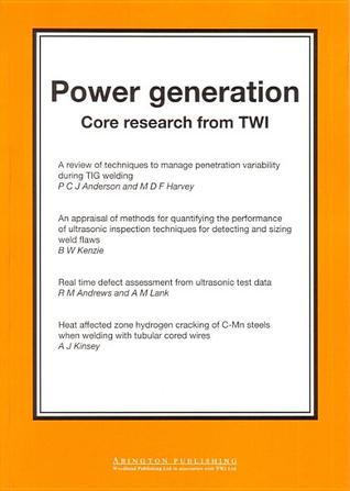 TWI Core Research  by  Welding Institute Staff