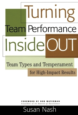 Turning Team Performance Inside Out: Team Types and Temperament for High-Impact Results Susan Nash