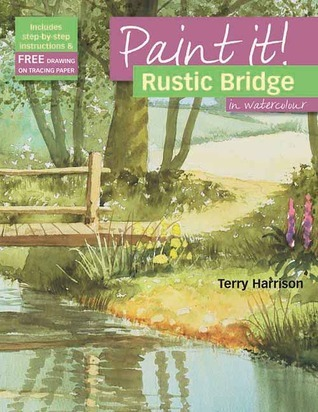 Rustic Bridge in Watercolour Terry Harrison