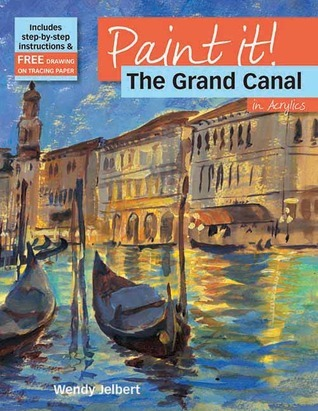 The Grand Canal in Acrylics  by  Wendy Jelbert