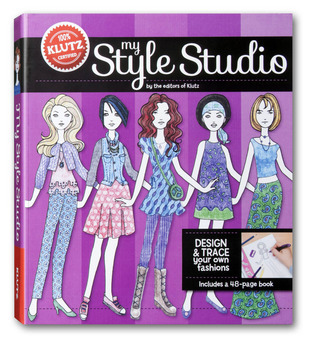 My Style Studio: Design and Trace Your Own Fashions  by  Klutz