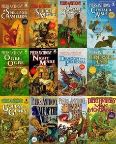 Early Xanth Series (#1-12) Piers Anthony