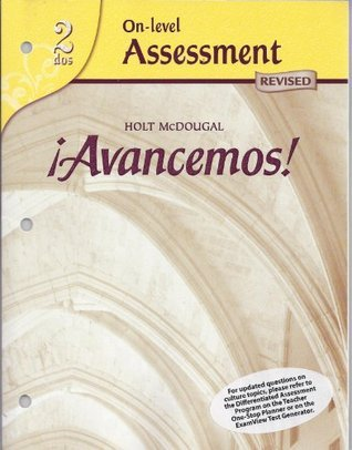 Avancemos! (On-level Assessment, 2 dos) Unknown