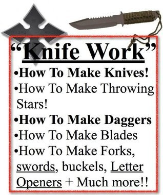 How To Make Knife | How To Make Knives | Advanced Knife Work | Knife Blades | Knives or Knives Warrior