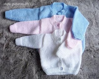 Cardigans Baby Knitting Pattern 172 UK ShiFios Patterns