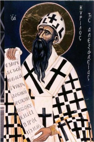 FIVE TOMES AGAINST NESTORIUS  by  Cyril of Alexandria