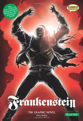 Frankenstein: Quick Text: The Graphic Novel Jason Cobley