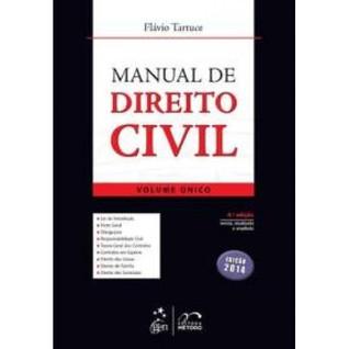 Manual de Direito Civil - Volume Único  by  Flávio Tartuce