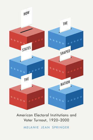 How the States Shaped the Nation: American Electoral Institutions and Voter Turnout, 1920-2000 Melanie Jean Springer