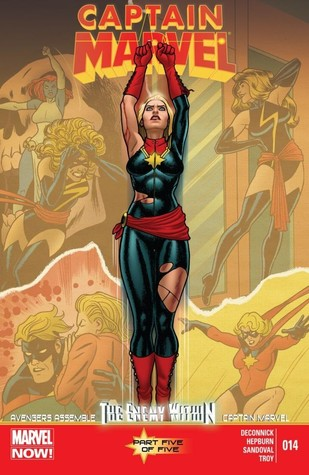 Captain Marvel #14  by  Kelly Sue DeConnick