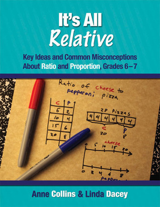 Its All Relative: Key Ideas and Common Misconceptions about Ratio and Proportion, Grades 6-7 Anne Collins