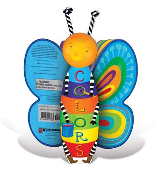 Colors: A Butterfly-Shaped Book  by  Accord Publishing