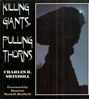 Killing Giants Pulling Thorns  by  Charles R. Swindoll