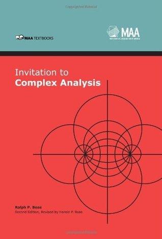 Invitation to Complex Analysis  by  Ralph Philip Boas Jr.