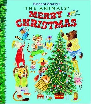 The Animals Merry Christmas (Giant Golden Books)  by  Kathryn Jackson