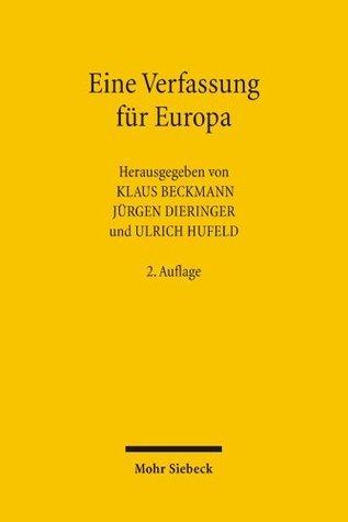 Eine Verfassung für Europa  by  Klaus Beckmann
