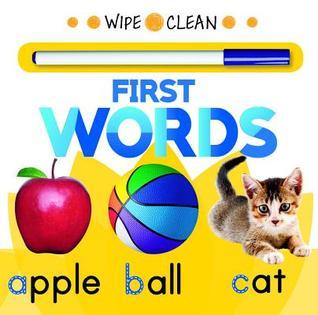 Wipe Clean First Words  by  Rourke Educational Media