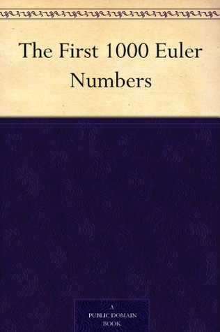 The First 1000 Euler Numbers Simon Plouffe