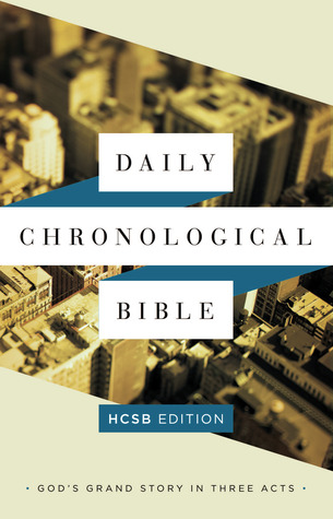 The Daily Chronological Bible: HCSB  Edition, Hardcover  by  Holman Bible Publisher