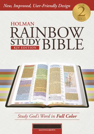 Holman Rainbow Study Bible: KJV Edition, Brown LeatherTouch Holman Bible Publisher