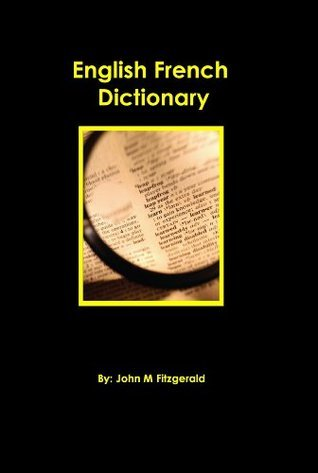 English French Dictionary John M. Fitzgerald