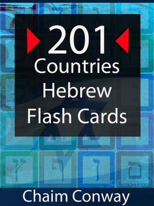 201 Hebrew Country Flash Cards With Audio Chaim Conway