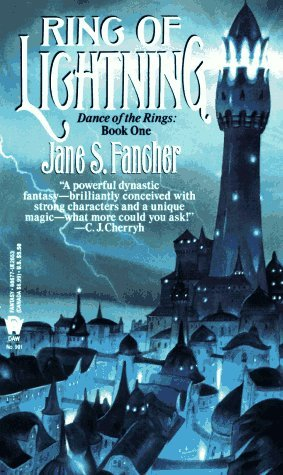 Ring of Lightning (Dance of the Rings, #1)  by  Jane S. Fancher