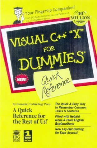 Visual C++ 6 for Dummies Quick Reference (For Dummies: Quick Reference Charles  Wright