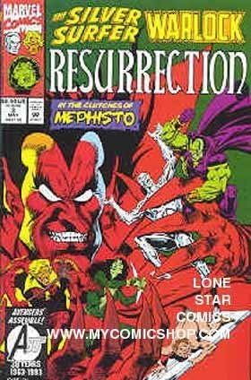 THE SILVER SURFER, WARLOCK, (RESURRECTION) (IN THE CLUTCHES OF MEPHISTO, VOLUME # 3)  by  Marvel Comics