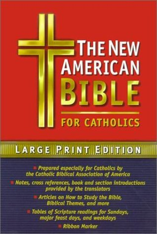 Catholic Bible-Nab-Large Print  by  Our Sunday Visitor Inc