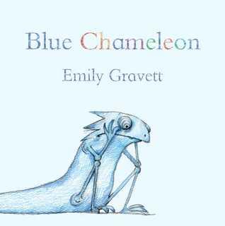 Blue Chameleon: with audio recording  by  Emily Gravett