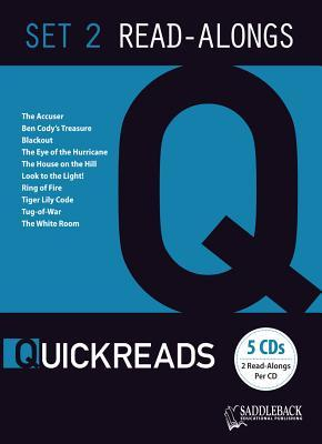 Q Reads 2 Read-Along Set  by  Saddleback Educational Publishing