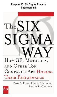 [Chapter 15] - Six SIGMA Process Improvement: Excerpt from the Six SIGMA Way  by  Peter S. Pande