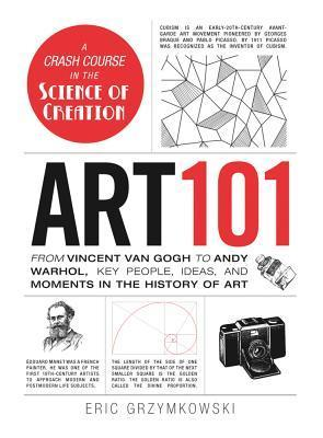 Art 101: From Vincent Van Gogh to Andy Warhol, Key People, Ideas, and Moments in the History of Art  by  Eric Grzymkowski