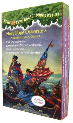 American History Quartet Set (Magic Tree House, #21-24)  by  Mary Pope Osborne