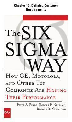 [Chapter 14] Measuring Current Performance: Excerpt from the Six SIGMA Way Peter S. Pande